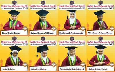Hafidz dan Hafidzah SD Muhammadiyah Prambanan